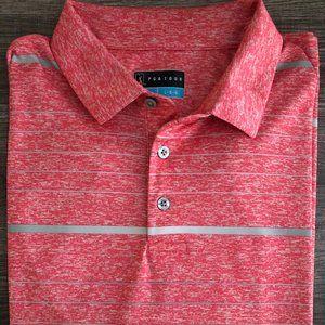 PGA TOUR Golf Polo Shirt with PGA Logo